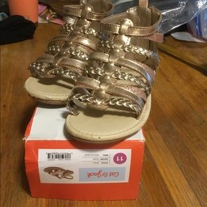 Carters Toddler Girl Sandals size 11